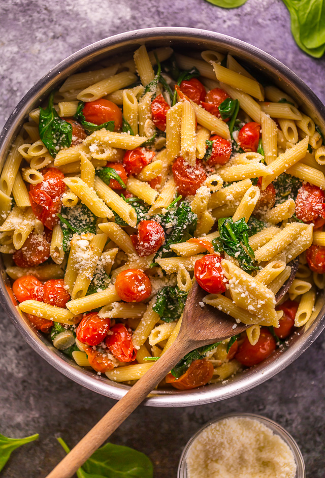 Easy Tomato And Spinach Pasta Baker By Nature