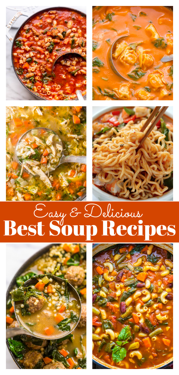 The Best Soup Recipes to keep you Warm this Fall and Winter