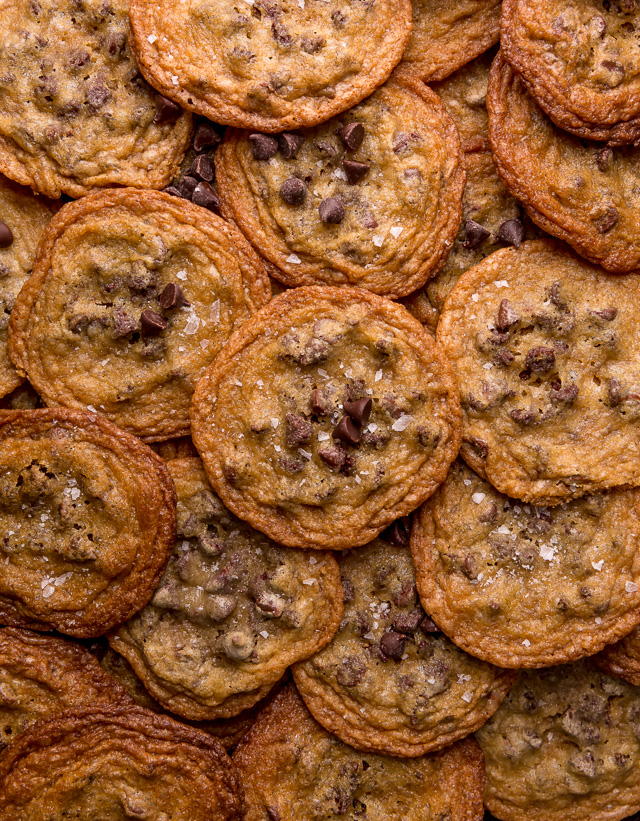 Thin Crispy Chocolate Chip Cookies Baker By Nature