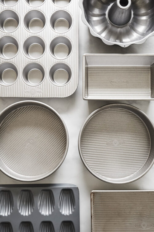 Today I'm excited to share with you a comprehensive list of my favorite baking pans! These are the pans I use time and time again because they conduct heat great, clean up like a breeze, and work with my recipes. So if you're in the market for a new cookie sheet, bundt pan, or cake tin, this recipe is for you!