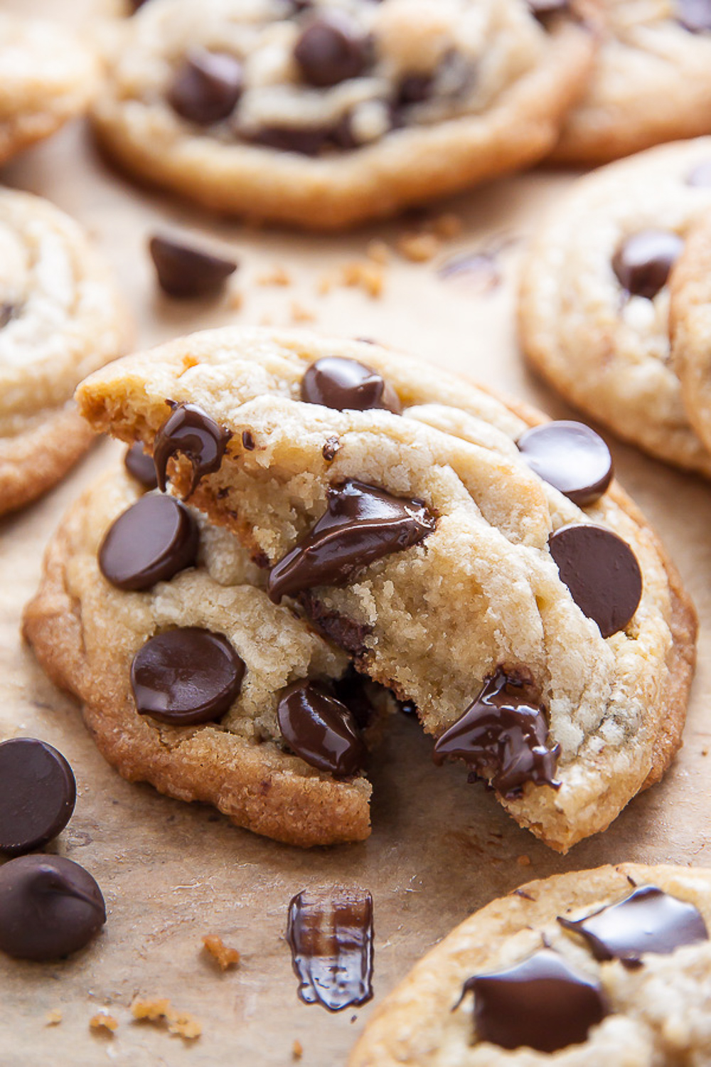 Craving chocolate chip cookies? Well, you're in the right place! Today I'm sharing 21 chocolate chip cookie recipes sure to cure ANY craving! Seriously! So whether you're looking for mini chocolate chip cookies, vegan chocolate chip cookies, or monster chocolate chip cookies loaded with m&ms and chewy oats, I've got you covered!
